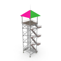Waterslide Tower PNG & PSD Images