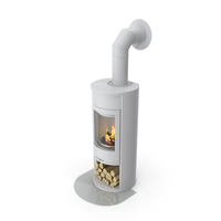 Wood Burning Stove Wall Venting Generic PNG & PSD Images