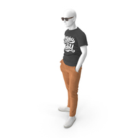 Mannequin in Summer Clothes PNG & PSD Images