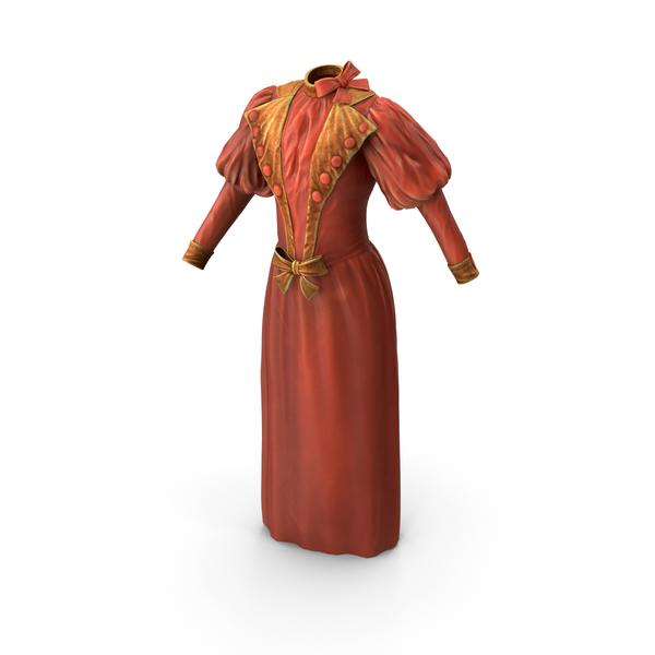 Vintage Dress PNG & PSD Images