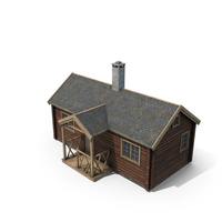 Mountain Cabin PNG & PSD Images