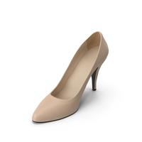Women's Shoe Beige PNG & PSD Images