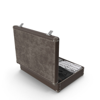 Suitcase with Clothes PNG & PSD Images