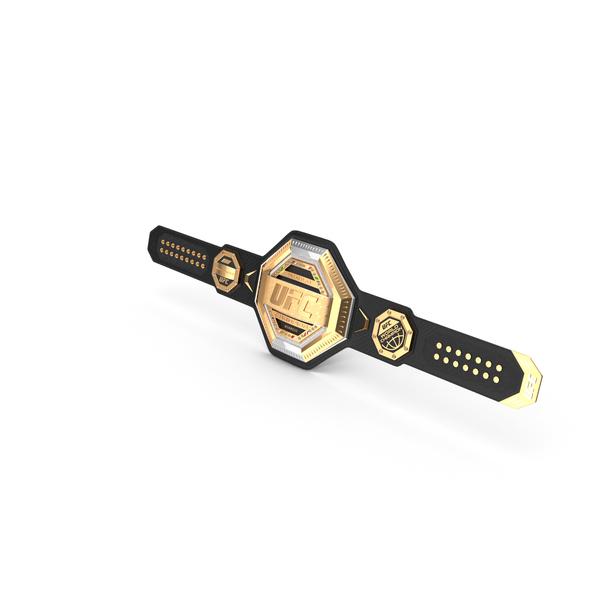 UFC Champion Belt PNG & PSD Images
