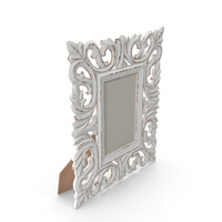 Openwork Wooden Frame PNG & PSD Images