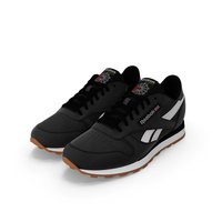 Reebok Classic Leather Shoes PNG & PSD Images