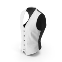 Waistcoat White PNG & PSD Images