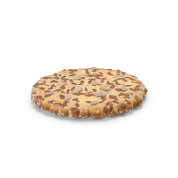 Circular Cracker with Sesame Flax Sunflower Seeds PNG & PSD Images