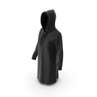 Women's Hoody Black PNG & PSD Images