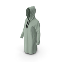 Women's Hoody Green PNG & PSD Images