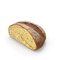 Half of Artisan Bread PNG & PSD Images