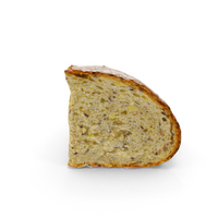 Piece of Artisan Bread PNG & PSD Images