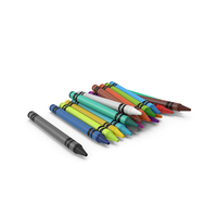 Crayons Stack PNG & PSD Images