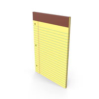Legal Pad With Holes PNG & PSD Images