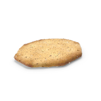 Octagon Cracker with Seasoning PNG & PSD Images