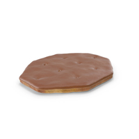 Chocolate Covered Octagon Cracker PNG & PSD Images