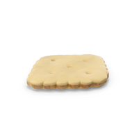 White Chocolate Covered Mini Rhombus Cracker PNG & PSD Images