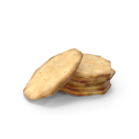 Small Pile of Octagon Crackers PNG & PSD Images