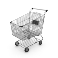 Shopping Сart with Black Plastic PNG & PSD Images