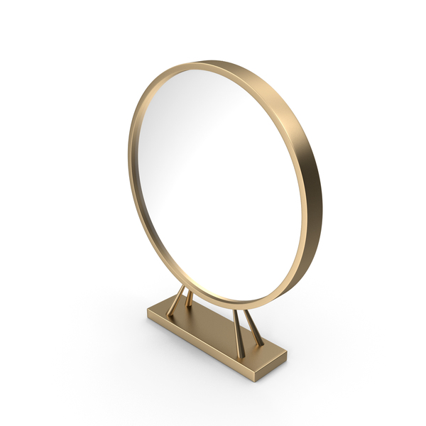 Gold Standing Mirror PNG & PSD Images