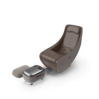 Bork Massage Chair & Foot Massager Set PNG & PSD Images