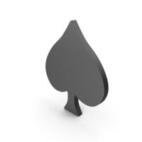 Playing Card Symbol Spade PNG & PSD Images