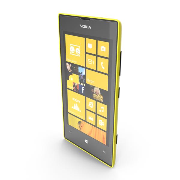 Nokia Lumia 520 PNG & PSD Images