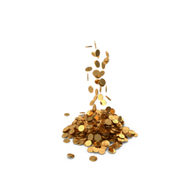 Pile of Gold Coins Dollar PNG & PSD Images