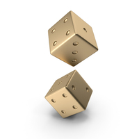 Gold Dice PNG & PSD Images