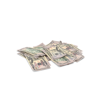 50 Dollars Pile PNG & PSD Images