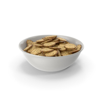 Bowl with Octagon Crackers with Seasoning PNG & PSD Images