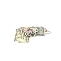 Dollars Pile PNG & PSD Images