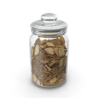 Jar with Mini Rhombus Crackers PNG & PSD Images