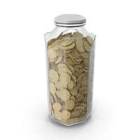 Octagon Jar with White Chocolate Octagon Crackers PNG & PSD Images
