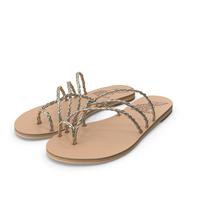 Cane Ancient Greek Sandals PNG & PSD Images