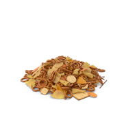 Pile of Mixed Salty Snacks PNG & PSD Images
