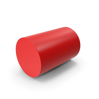 Cylinder Red PNG & PSD Images