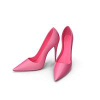 Women's Pink Patent Leather Shoes PNG & PSD Images