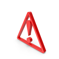 Exclamation Triangle PNG & PSD Images