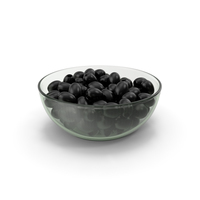 Black Olives Without Seeds In Bowl PNG & PSD Images