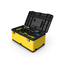 Yellow Toolbox PNG & PSD Images