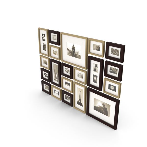 Picture Wall Sepia PNG & PSD Images