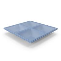 Plastic 4 Compartment Bowl PNG & PSD Images