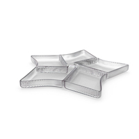 Crystal 5 Compartment Star Bowl PNG & PSD Images