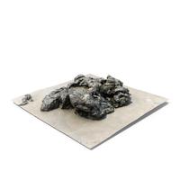 3D Rock Scan PNG & PSD Images
