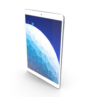Apple iPad Air 3 10.5  2019  Silver PNG & PSD Images