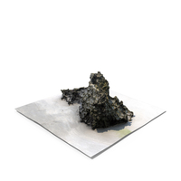 Detailed 3D Scan Of A Rock PNG & PSD Images