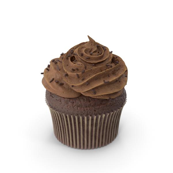 Chocolate Cupcake PNG & PSD Images