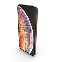 Apple iPhone Xs Max Gold PNG & PSD Images