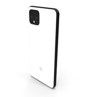 Google Pixel 4 Clearly White PNG & PSD Images